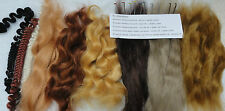 mohair and needle pack  for reborn artists