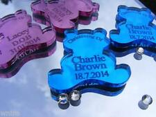 CHRISTENING TEDDIES   50 Personalised  Favours Table Decorations