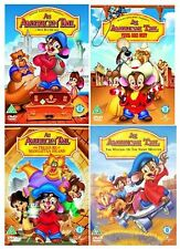 AN AMERICAN TAIL COMPLETE COLLECTION PART 1+2+3+4 BRAND NEW UK DVD