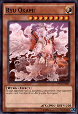 YUGIOH Yang Zing / Wyrm Dragon Deck COMPLETE 40 - Cards