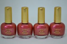 Lot of 4 Sally Hansen Nail Prisms 8.8ml/0.3fl.oz. -Coral Amber-