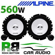 """Alpine Citroen C3 2001 en adelante de 6.5 """" 16cm 560w coche componente Puerta Frontal oradores"""