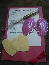 Love Spell Kit - Wiccan - Witchcraft  Pagan  shell pink