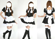 Maid Gothic Lolita w/ Tie Dress Cosplay Adult Large
