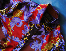 SHIRT woman vintage 90's GIANNI VERSACE JEANS COUTURE TG.42/S circa made Italy