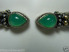 Barbara Bixby Sterling Chrysoprase Cuff Size Avg-Large