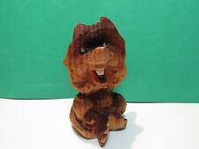 "HAND CARVED NORWEGIAN BOY - 3 1/2"" Henning of Norway Troll Doll"