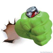 BigMouth THE BEAST GIANT GREEN HULK FIST Drink Beer Holder Cooler Koozie Kooler