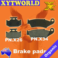 FRONT REAR Brake Pads for Suzuki DR 250 R Djebel XC/GPS SJ45A/DOHC 1995-2006