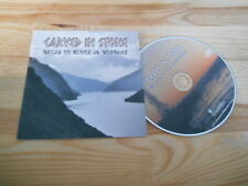 CD Gothic carved in stone-Tales of Glory & sottosfruttate (10) canzone PROMO NERO SPINA