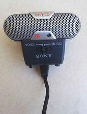 SONY ECM-719 Condenser Stereo Microphone FAULTY
