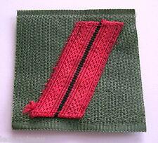 FRANCE: Galon militaire de poitrine grade BRIGADIER, en état moyen.