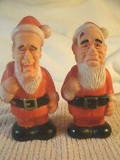 BUSH / GORBACHOV CHRISTMAS SQUEEK TOYS...VERY ODD!!