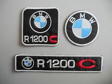 BMW R1200 C KIT 3 TOPPE PATCH RICAMATE TERMOADESIVE