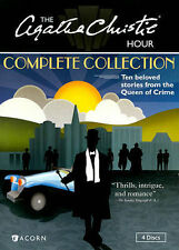The Agatha Christie Hour The Complete Collection 10 stories DVD 4-Disc Set