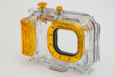 Seashell SS-2 Underwater 40M 130ft Waterproof Camera Housing Case Yellow SS2 NEW