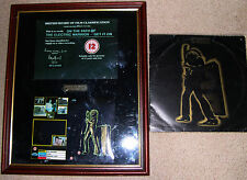 "T. REX ""ELECTRIC WARRIOR"" LP, 1ST PRESS. PLUS RARE FRAMED FILM CLASSIFICATION"