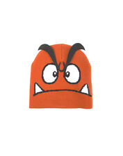 OFFICIAL NINTENDO'S SUPER MARIO BRO'S GOOMBA FACE COSTUME STYLE BEANIE HAT (NEW)