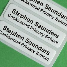 50 Iron on School Children's Clothes Name Labels, Tapes, Tags, Garment labels