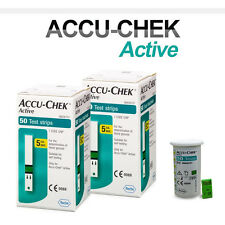 ACCU CHEK Active 100 Test Strips (100Sheets) Tracking number provided_Exp10/2017