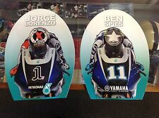 JORGE LORENZO and BEN SPIES MALAYSIAN MotoGP LARGE HAND WAVERS