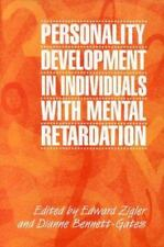 Personality Development in Individuals with Mental Retardation-ExLibrary