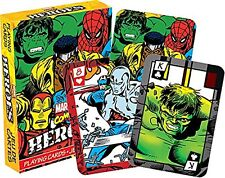 Marvel Heroes set of  playing cards (+ jokers) (nm 52324)