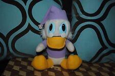Vintage Disney Plush A Christmas Carol Scrooge McDuck Nightgown Doll 1984 Rare