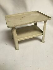 Dollhouse Miniature  Tin Work Table ~Antique ~Germany