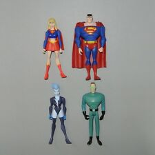 DC Universe JUSTICE LEAGUE UNLIMITED Superman Supergirl Livewire Weather Wizard