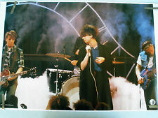 RARE ECHO AND THE BUNNYMEN 1985 VINTAGE ORIGINAL MUSIC POSTER