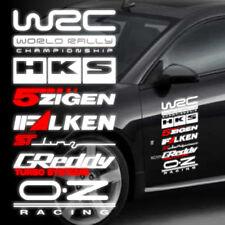 1pcs Reflective WRC HKS 5zigen Car Side Door Sticker Decal 40x20cm QM0014S