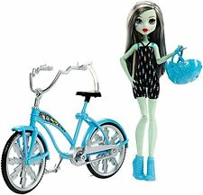 Monster High Boltin Bicycle Frankie Stein Doll & Vehicle