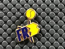 pins pin  TENNIS ROLAND GARROS  FRANCE 3 FR3 DECAT