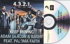 ADAM DEACON & BASHY KEEP MOVING RARE 2 TRACK PROMO CD [FT PALOMA FAITH]