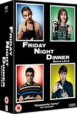 Friday Night Dinner . The Complete Series 1-3 . Season 1 2 3 . 3 DVD . NEU . OVP