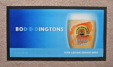 Boddingtons Extra Cold Rubber Backed Bar Runner Bitter Beer Pub Bar New Sealed