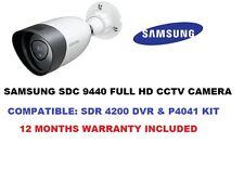 SAMSUNG SDC 9440bu TELECAMERA CCTV 1080p compatiblitysdr 4200 DVR o SDH p4021 KIT