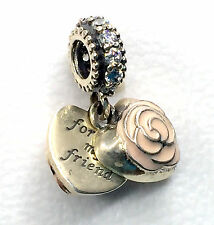 New Pandora silver 925 ale charm beads Dangle Mother's Rose First Mother Friend