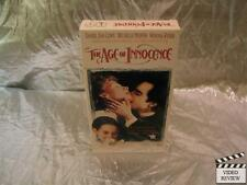 The Age of Innocence (VHS, 1994) Daniel Day Lewis Michelle Pfeiffer Wiona Ryder
