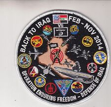 CARRIER AIR WING EIGHT DEFENSE OF IRAQ CRUISE PATCH