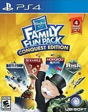 PLAYSTATION 4 HASBRO FAMILY FUN PACK CONQUEST NEW 4 GAMES IN 1