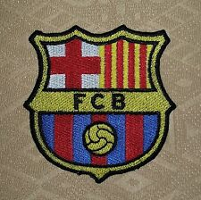 FCB FC Barcelona Soccer Football Sports Iron-on Embroidered Patch/ Badge/ Logo