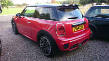 Pop Rear Roof spoiler Wing Lip For BMW Mini Cooper F56 S JCW Style FRP Craft