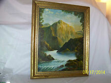 Leo Goode Artist Original Oil On Canvas Landscape Painting