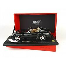 1:18 BBR Ferrari 599 Super America SA Aperta 2010 Nero Stellato UNIQUE ON EBAY
