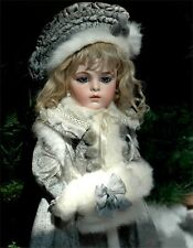 Coat, Hat, Muff for Antique Doll, Bru 18""