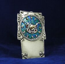 Pewter Clock Art Nouveau Archibald Knox Liberty Design Made in England AK10 NEW