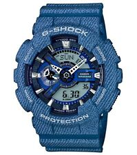 Casio G Shock * GA110DC-2A Denim Pattern Blue Gshock XL Ivanandsophia COD PayPal