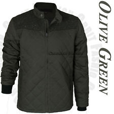 Mens Fashion Quilted Slim Casual Warm Jacket Winter Bomber Slim Collar Coat Tops